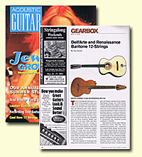 Acoustic Guitar featuring Dell Arte article