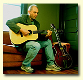 David DeLoach playing his Dell' Arte guitar built by John Kinnard
