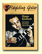 Flatpicking Magazine with John Kinnard Artwork