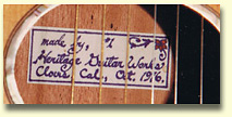 Heritage Guitars Label1
