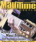 MauiTime Weekly with John Kinnard Dell Arte Guitar